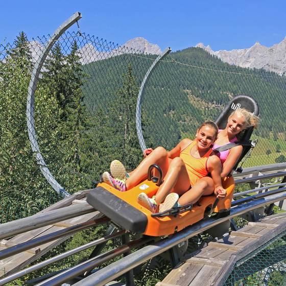 "Sommerrodelbahn ""Alpin Coaster"" am Rittisberg"